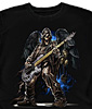 Axeman Bass Guitar T-Shirt
