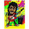 Guitar Personalized Caricature Print