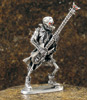 Skeleton Bass Player Figurine